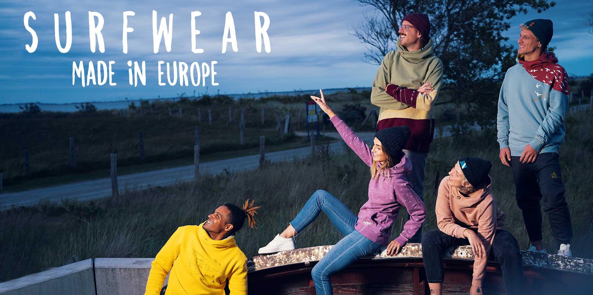 Hoodies made in Portugal und Türkei