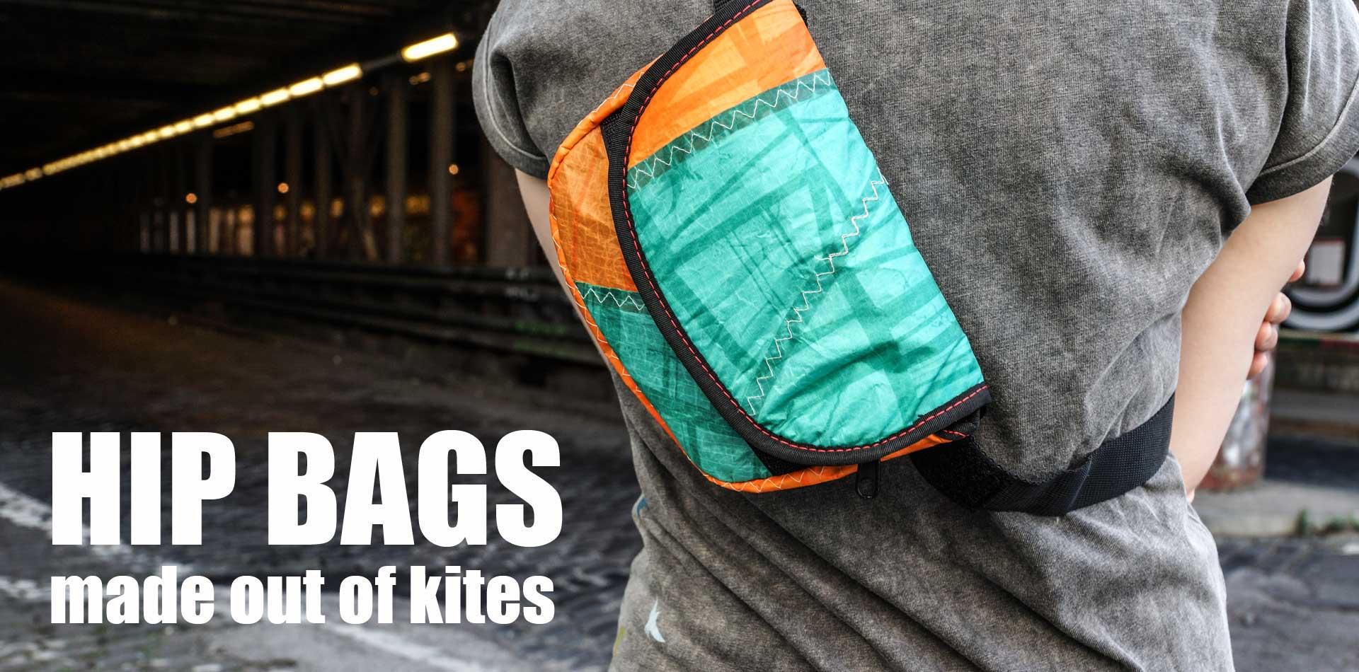 Abwrackprämie -Hip Bags aus alten Kites
